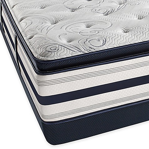 Buy Beautyrest Ultra Carramore Plush Pillow Top Low Profile Twin Xl Mattress Set From Bed Bath