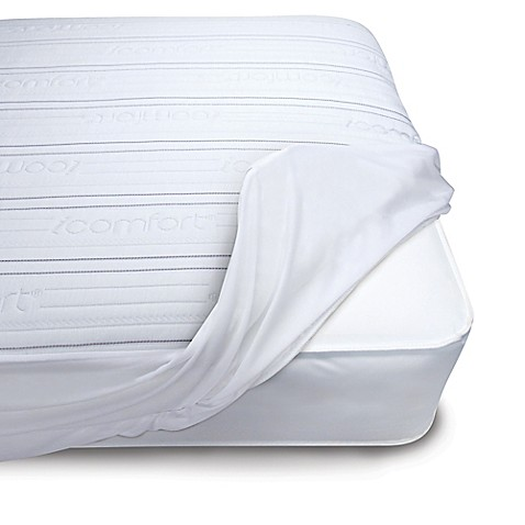 Serta i fort Premium fort Stripe Crib Mattress Pad