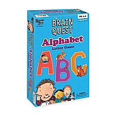 image of Brain Quest Alphabet Letter Game