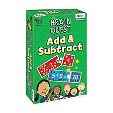 image of Brain Quest Add & Subtract Game