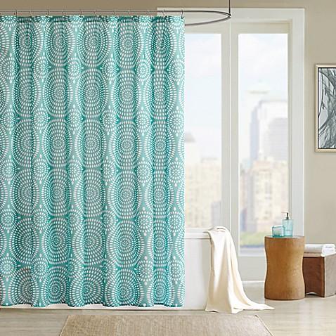 Madison park phoebe shower curtain bed bath beyond - Madison park bathroom accessories ...