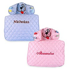 Personalized baby gift baskets baby shower gifts gift sets bed silly phillie creations puppy changing mat negle Choice Image