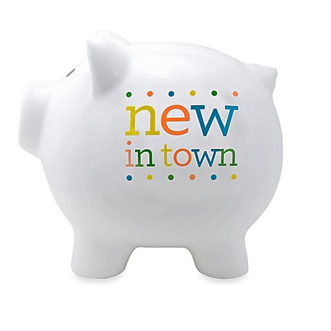 Buy Sunnyside Up New In Town Piggy Bank From Bed Bath