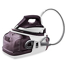 image of Rowenta® Pro Precision Steam Station in White/Purple