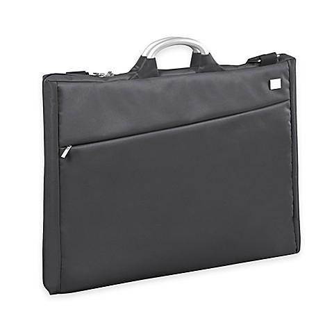 Lexon airline garment bag in grey bed bath beyond for Wedding dress garment bag for air travel