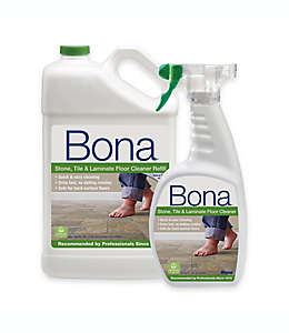 Repuesto de limpiador Bona®, para piso laminado, piedra y azulejo, 4.73 L, con atomizador de regalo