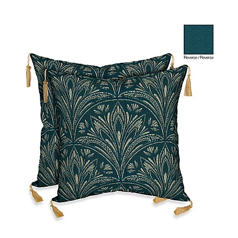 Buy Bombay 16-Inch Royal Zanzibar Throw Pillow (Set of 2) from Bed Bath & Beyond
