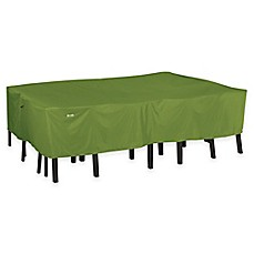 image of Classic Accessories® Sodo Table and Chair Cover in Green