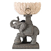 image of Bombay® Assam Outdoor Elephant Planter