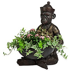 image of Bombay® Gallant Monkey Outdoor Planter