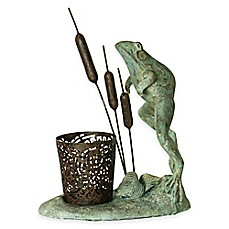 image of Bombay® Leaping Frog Outdoor Votive Candle Holder