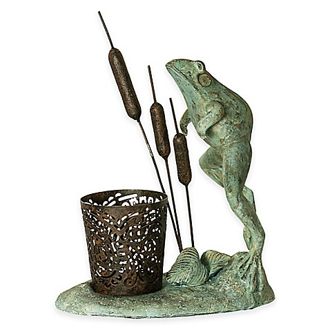 Bombay® Leaping Frog Outdoor Votive Candle Holder