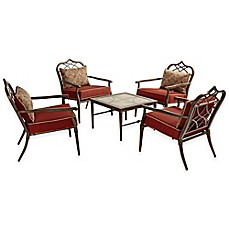 image of Bombay® Taj 5-Piece Outdoor Chat Set