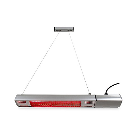 Energ hea 21545 wall or ceiling mount electric infrared - Infrared bathroom ceiling heaters ...
