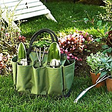 image of Picnic at Ascot Eco Gardening Tote with Tools