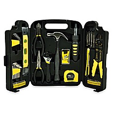 image of 129-Piece Home Toolkit in Black