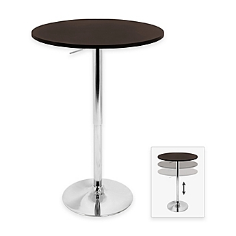 image of lumisource adjustable bar table