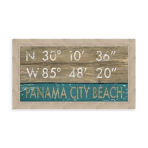 Panama City Beach Florida Coordinates