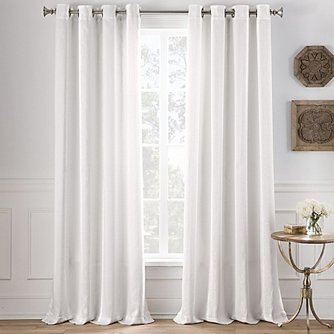 Buy Cole Stripe 108 Inch Grommet Top Window Curtain Panel