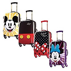 image of Disney® 21-Inch 4-Wheel Carry On Spinner Suitcase from American Tourister®