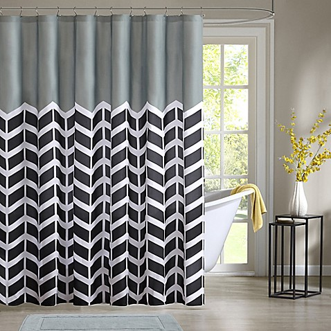 Intelligent design nadia shower curtain bed bath beyond - Intelligent shower ...