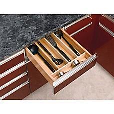 Rev-A-Shelf Wood Cabinet Drawer Utility Tray Insert  sc 1 st  Bed Bath u0026 Beyond & Kitchen Drawer Organizers u0026 Dividers | Utensil Organizers | Bed Bath ...