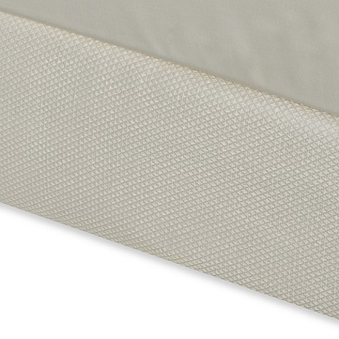 buy diamond matelasse california king box spring cover in With box spring cover bed bath beyond