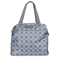 image of Sarah Wells® Lizzy Breastpump Bag in Grey Chain Link