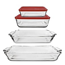 image of Anchor Hocking® 6-Piece Bakeware Set