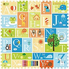 image of Creative Baby 4-Piece Alphabet i-Mat™