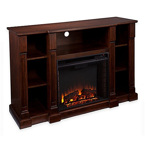 southern enterprises kendall electric media fireplace. Black Bedroom Furniture Sets. Home Design Ideas