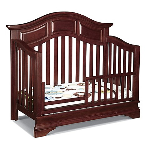 buy westwood design donnington toddler guard rail in virginia cherry from bed bath beyond. Black Bedroom Furniture Sets. Home Design Ideas