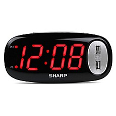 Alarm Clocks Radio Travel Amp Bedside Alarm Clocks Bed