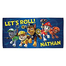 image of Nickelodeon™ PAW Patrol Beach Towel