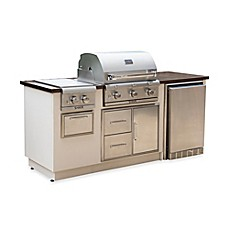 image of Saber® EZ Outdoor Kitchen with Fridge