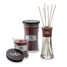 image of woodwick redwood 22ounce jar candle