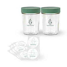 image of Sage Spoonfuls® Glass Snack Pack