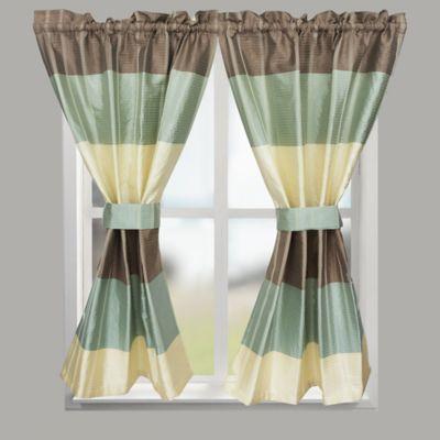 Croscillreg Fairfax 64 Inch Rod Pocket Bath Window Curtain Panel