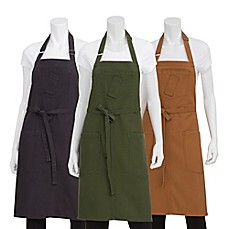 image of Chef Works® Rockford Canvas Bib Apron