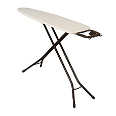 image of Household Essentials®  Ultra 4-Leg Ironing Board with Iron Rest in Antique Bronze