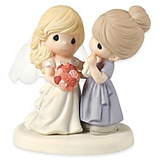image of Precious Moments® My Daughter, My Pride, a Beautiful Bride Figurine