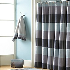 image of Croscill® Fairfax Shower Curtain in Slate