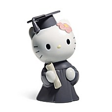 image of Nao® Hello Kitty Graduation Day Porcelain Figurine