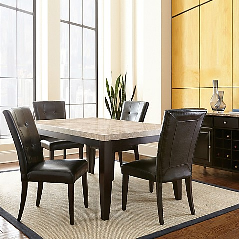 Steve Silver Co. Monarch Dining Collection In Dark Cherry