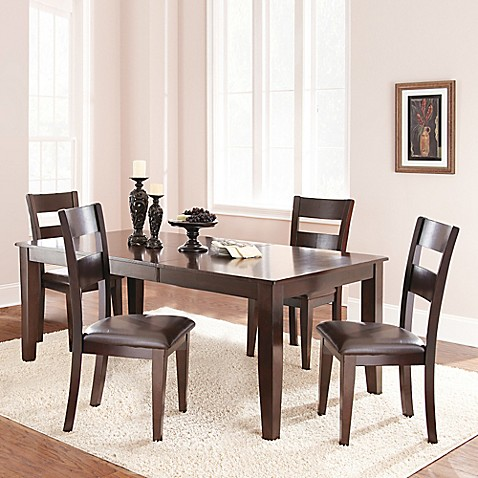 Buy Steve Silver Co Victoria 5 Piece Standard Height Dining Set In Dark Espresso From Bed Bath