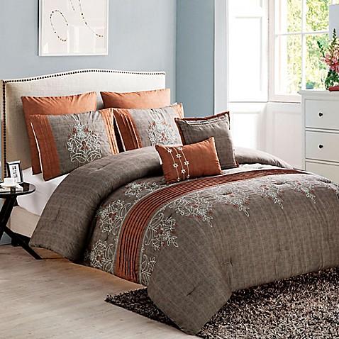 Vcny Grace 7 Piece Comforter Set Bed Bath Amp Beyond