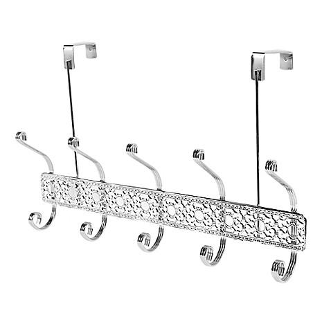 Home Basics® Over-the-Door 5-Hook Flat Wire Hanger in