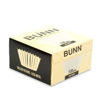 Bunn Coffee Maker Filters : Bunn 100-Count Coffee and Tea Filters - Bed Bath & Beyond