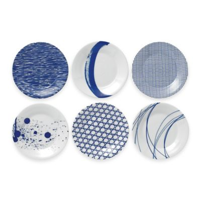 image of Royal Doulton® Pacific Tapas Plates (Set of 6)