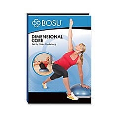 image of BOSU® Dimensional Core DVD